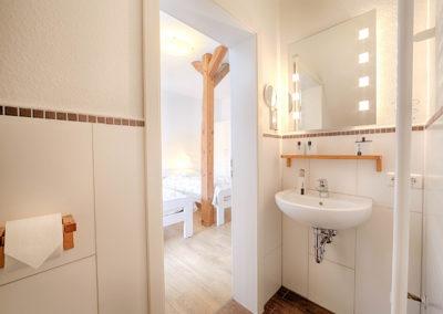 Gästezimmer Blütenmeer - Bad