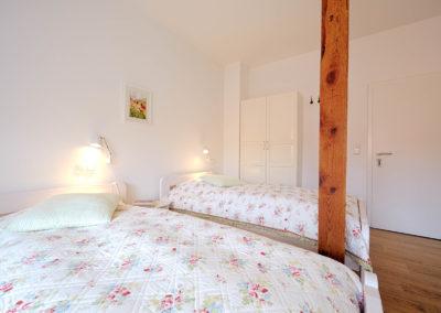 Gästezimmer Blütenmeer - Betten