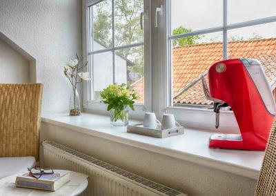 Gästezimmer Blütenmeer - Fenster